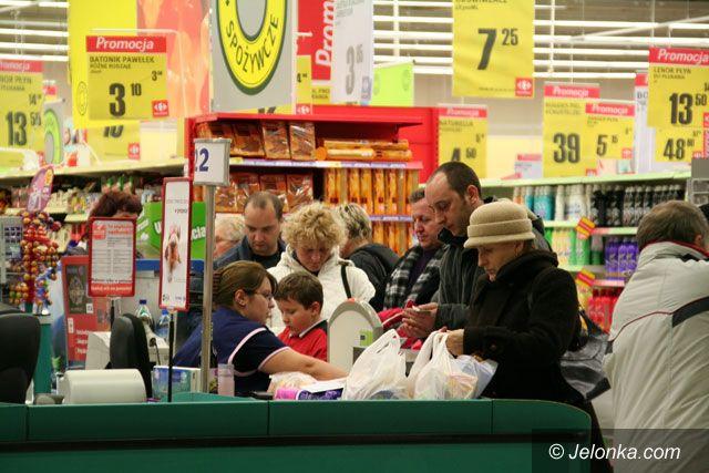 Jelenia Góra: Utrudnione zakupy 1 listopada