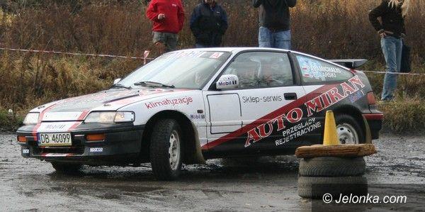 Kotlina Jeleniogórska: Piąta runda Konkursowej Jazdy Samochodem