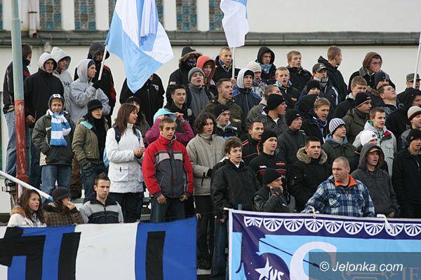 Jelenia Góra: Górnik Wałbrzych wygrywa w piłkarskiej