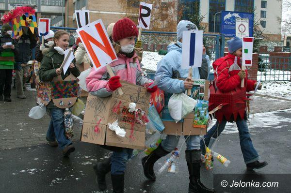 Jelenia Góra: – Nie palcie śmieci! – krzyczały dzieci