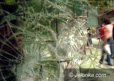 JELENIA GÓRA: Pijani wandale zniszczyli wystawy
