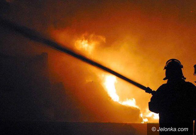 Region Jeleniogórski: Spłonęła stolarnia pod Jelenią Górą