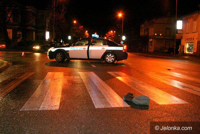 JELENIA GÓRA: Bezmyślność kierowcy przyczyną wypadku – poszkodowany zmarł