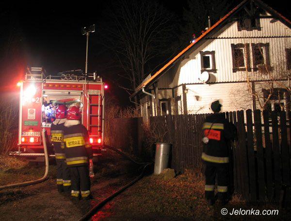 Region Jeleniogórski: Dom stanął w płomieniach