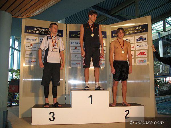 Marienberg: Znakomity start pływaków z Jedenastki Jelenia Góra
