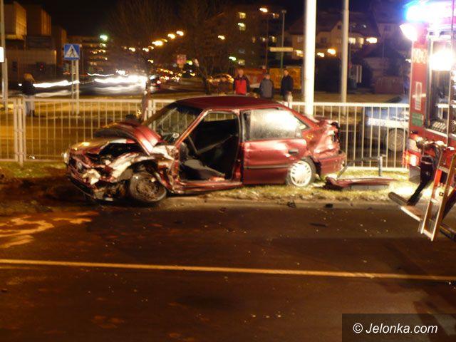 JELENIA GÓRA: Wypadek radiowozu policyjnego