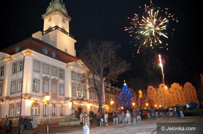 JELENIA GÓRA: Jeleniogórzanie przywitali Nowy Rok 2008