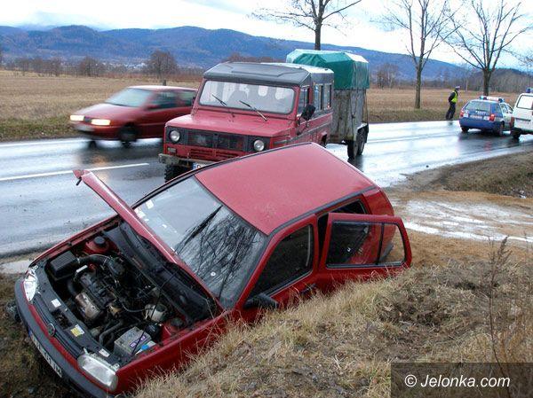"""Region Jeleniogórski: Wypadek na krajowej """"trójce"""" – SPROSTOWANIE"""