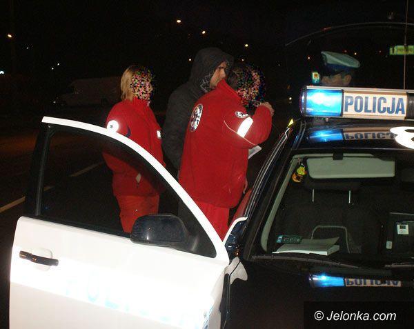 JELENIA GÓRA: Ambulans potrącił mężczyznę na rogatkach miasta