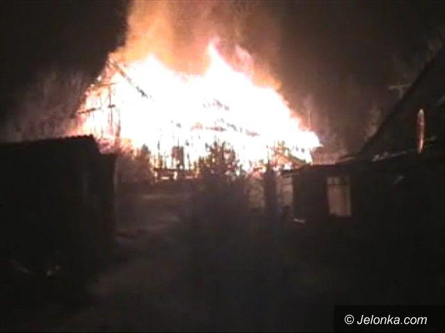 JEŻÓW SUDECKI: Podpalenia u Karmelitów