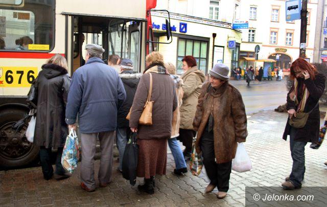 Jelenia Góra: Pechowy dzień dla pasażerów MZK