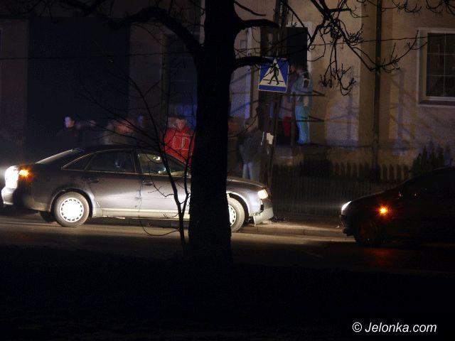 JELENIA GÓRA: Kraksa na łuku w Sobieszowie
