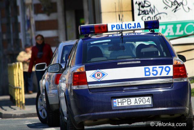 JELENIA GÓRA: Piątka dla policji. Czy rzeczywiście?
