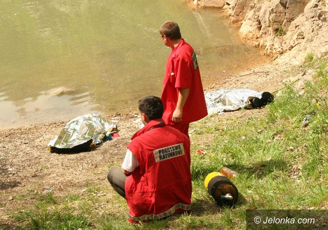 Region Jeleniogórski: Dramat w kamieniołomie – harcerze utonęli