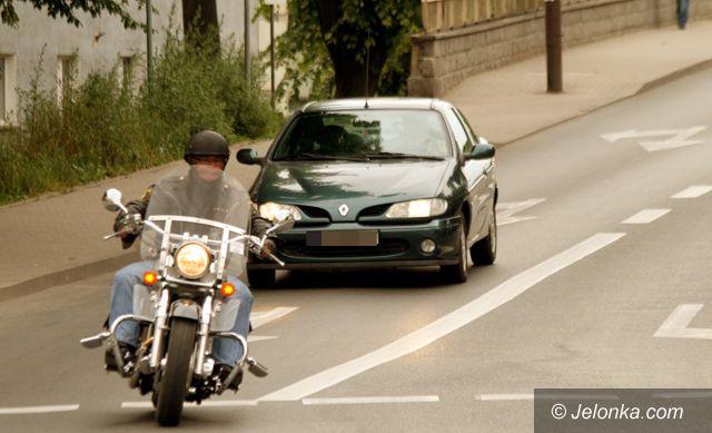JELENIA GÓRA: Na motocyklu najważniejsza jest rozwaga
