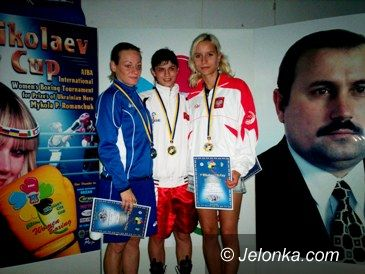 Nikołajew (Ukraina): Justyna zdobyła brązowy medal w boksie