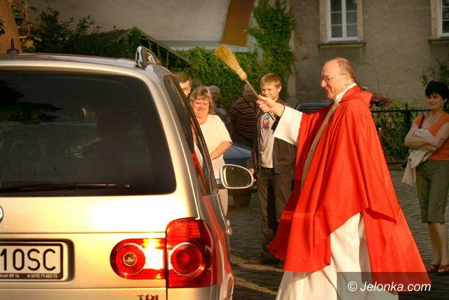 JELENIA GÓRA: Święty Krzysztofie, módl się za kierowców!