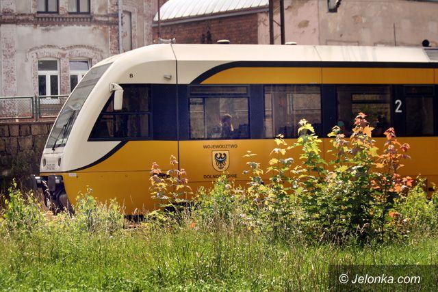 Jelenia Góa: Pijany na nasypie wstrzymał ruch pociągów