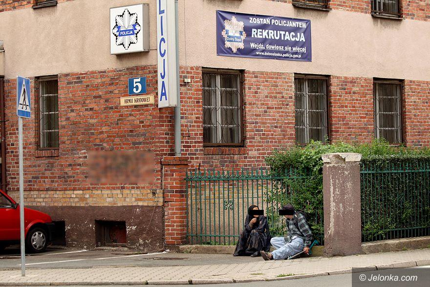 JELENIA GÓRA: Obława na Romów złodziei
