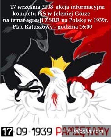 JELENIA GÓRA: 69 lat temu napadli nas Sowieci – pamiętaj!