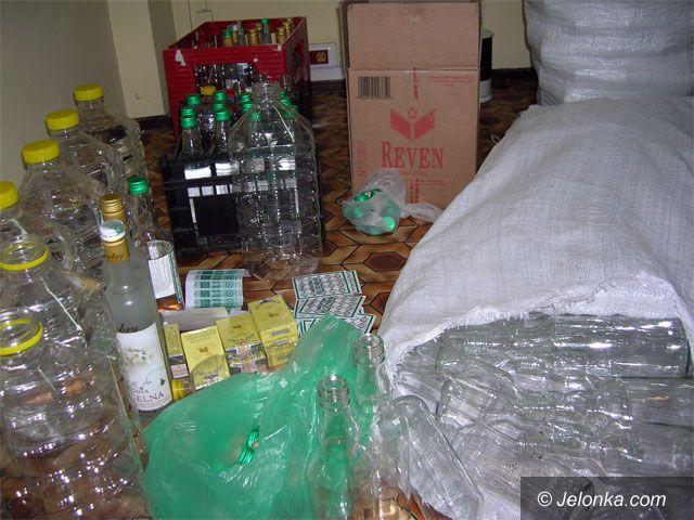 REGION JELENIOGÓRSKI: Rozlewał wódkę na lewo
