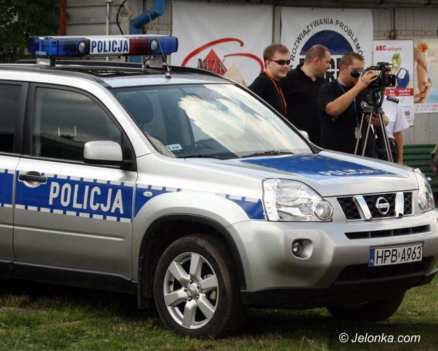 REGION JELENIOGÓRSKI: Złapią bandytów w trudnym terenie