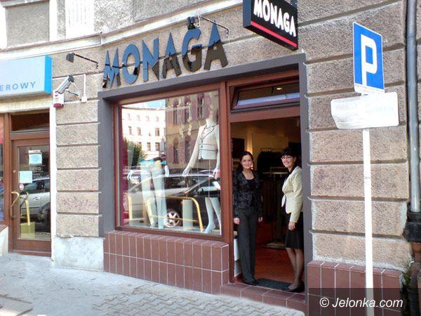 Jelenia Góra: Sklep MONAGA w nowym miejscu