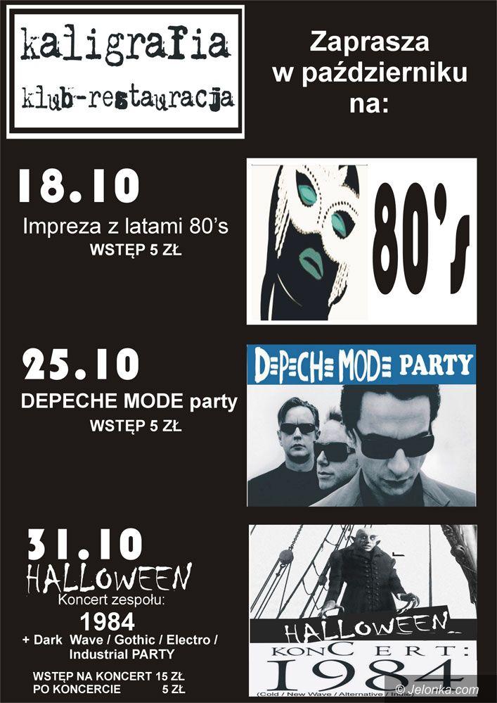JELENIA GÓRA: Z Jelonką do Kaligrafii na Depeche Mode i Halloween