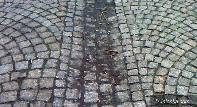 JELENIA GÓRA: Wstyd za brudy na deptaku