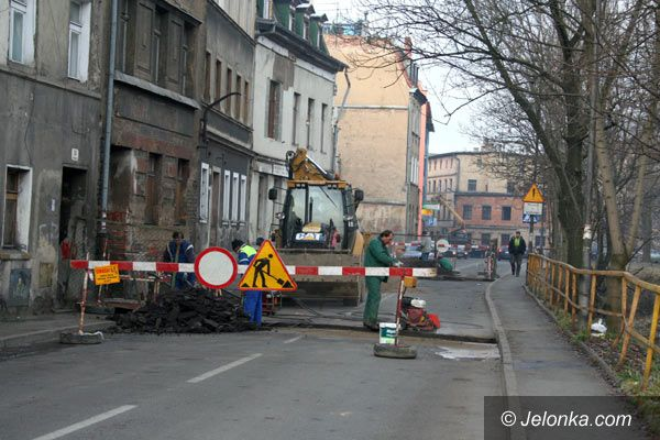 Jelenia Góra: Zamknięta ulica Pijarska