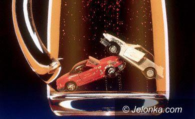JELENIA GÓRA: Kierowca pijak wpadł dwa razy tego samego dnia