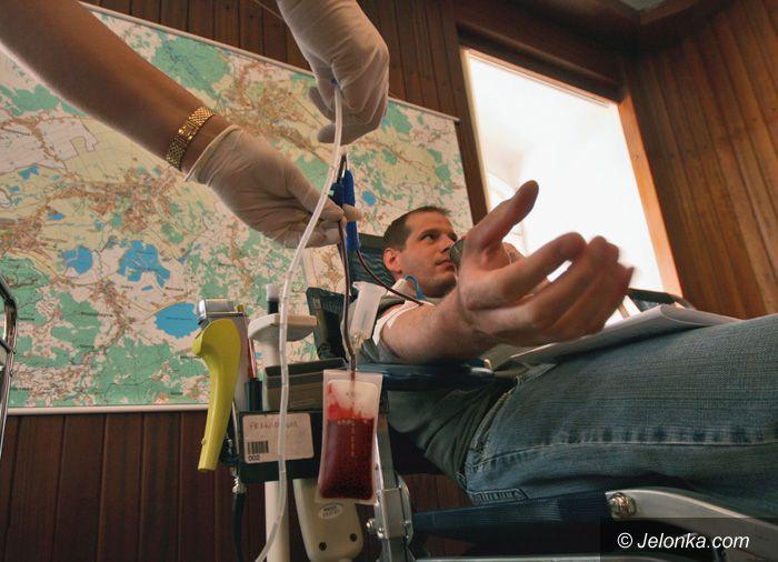 JELENIA GÓRA: Nie bądź żyła, oddaj krew