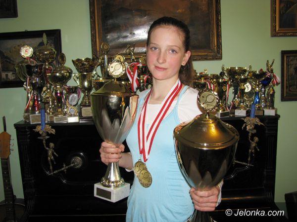 Pabianice: Młoda tenisistka dokłada kolejny, poważny sukces