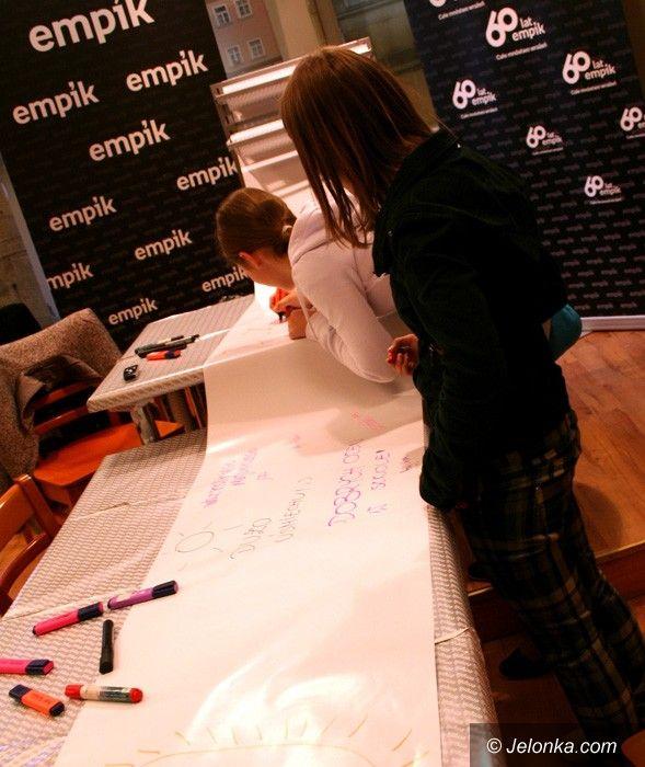 REGION: Rekordowe życzenia na metry dla dzieci w Empiku