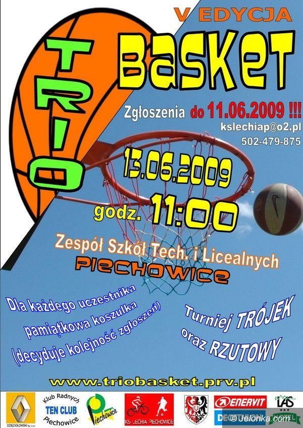 Piechowice: Zagraj w Trio Basket