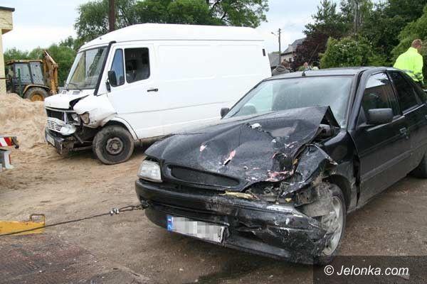 JELENIA GÓRA/REGION: Przykre skutki szybkiej jazdy