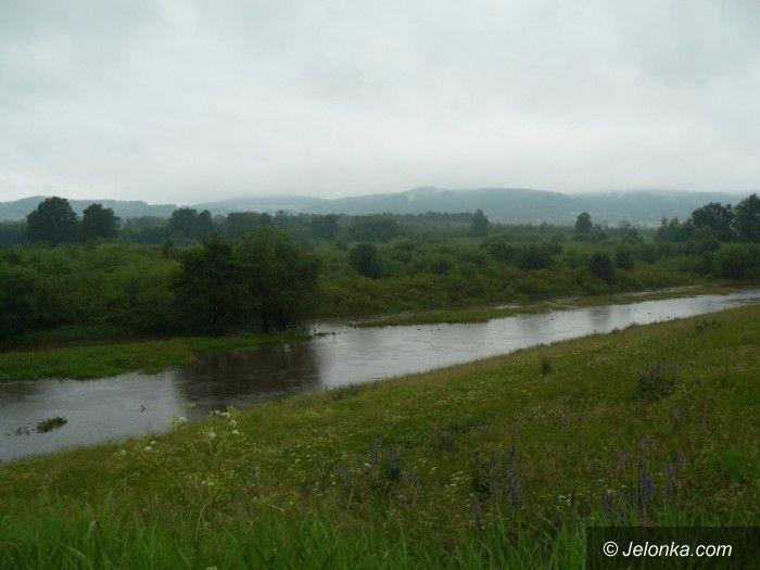 REGION: Po wczorajszych ulewach rzeki opadają