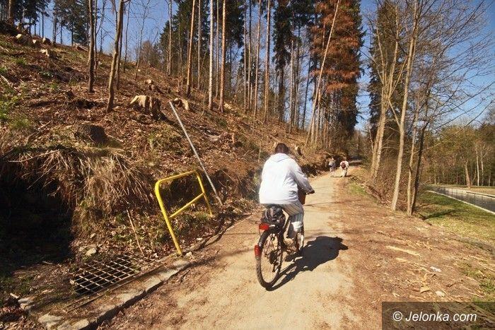 JELENIA GÓRA: Droga rowerowa na Perłę Zachodu jak nowa