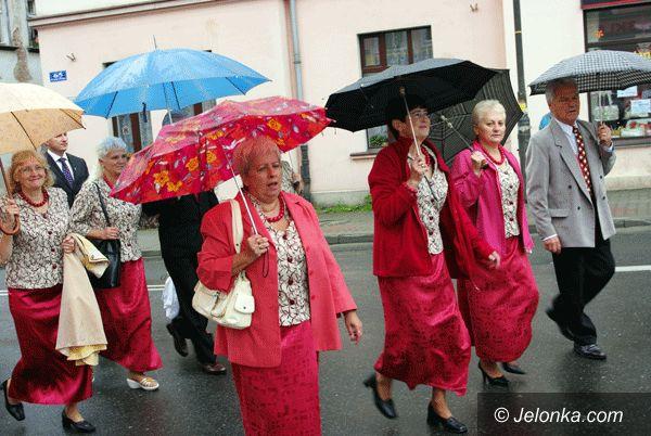 REGION: Kryształowy Weekend w strugach deszczu