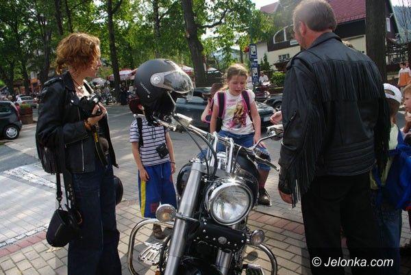 REGION: Parada Harleyów w mgnieniu oka