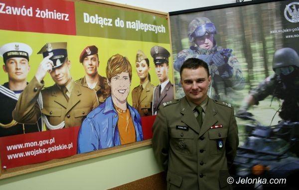 JELENIA GÓRA: Wojsko kwalifikuje, ale już nie wciela