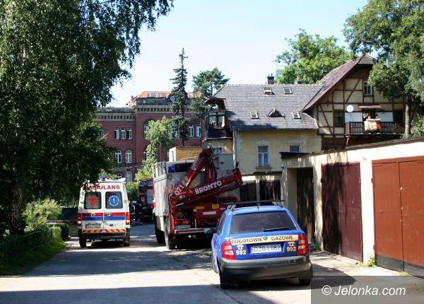 JELENIA GÓRA: Wybuchł junkers przy ul. Norwida