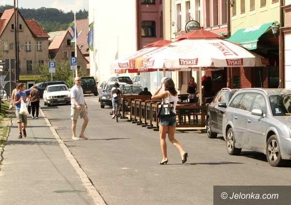 Jelenia Góra: Ogródek na ulicy