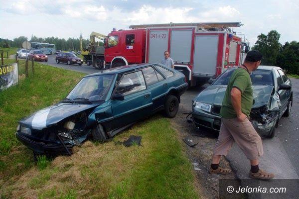REGION: Niebezpieczne zderzenie w Miłkowie