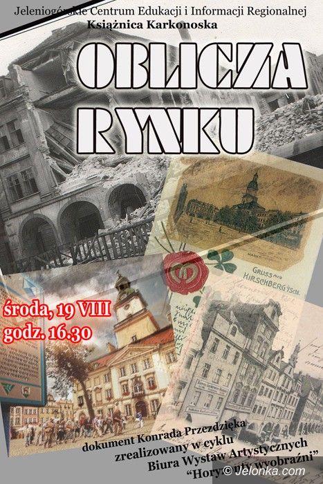 """JELENIA GÓRA: """"Oblicza Rynku"""" w Książnicy Karkonoskiej"""