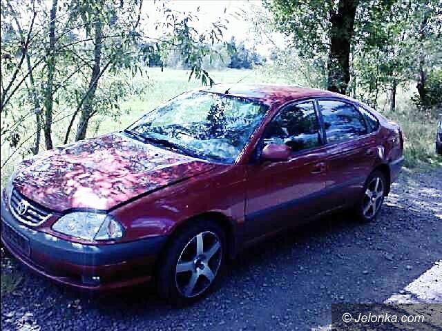 Gryfów Śląski: Ukradli samochód i zostawili w lesie