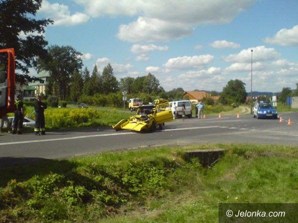 Podgórzyn /region: Tragiczny finał wypadku w Podgórzynie