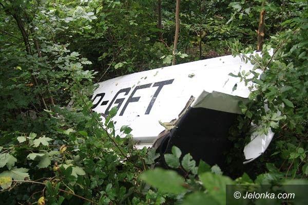 REGION: Katastrofa lotnicza w Pastewniku