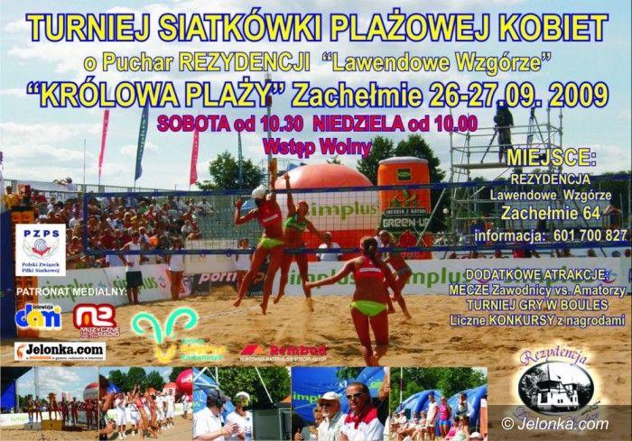Zachełmie: Wyłonią Polską Królową Plaży