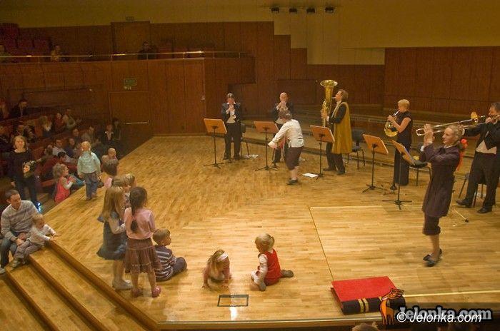 JELENIA GÓRA: Muzyka na metry, czyli oswajanie z filharmonią